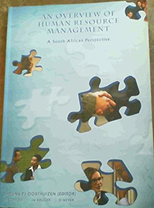 An Overview of Human Resource Management : Oosthuizen, Theuns F.J.