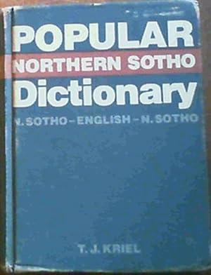 Popular Northern Sotho dictionary: N. Sotho-English, English-N.: Kriel, T. J