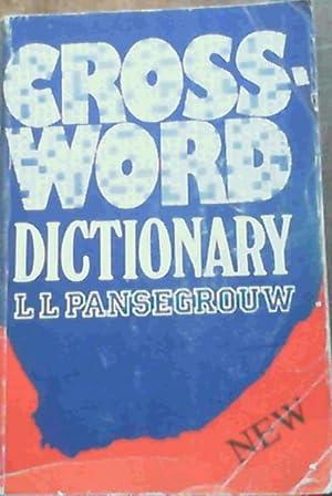 Crossword Dictionary: Pansegrouw, L L