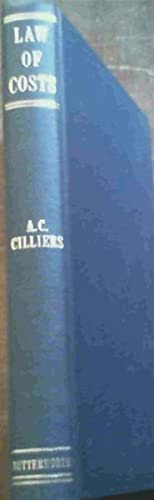 Law of Costs: Cilliers, A C