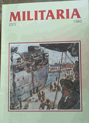 Militaria - Militer-Historiese Tydskrif van die SAW / Military History Journal of the SADF 23/3 1993