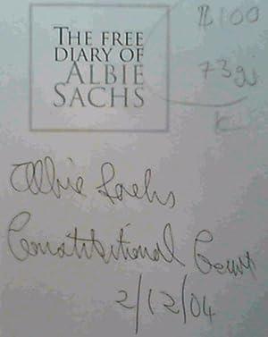 The Free Diary Of Albie Sachs: Sachs, Albie; September,