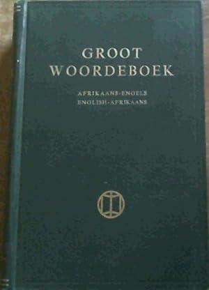 Groot Woordeboek : Afrikaans - Engels /: Kritzinger : Steyn