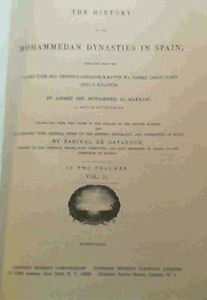 The History of the Mohammedan Dynasties in: Al-Makkari, Ahmed ibn