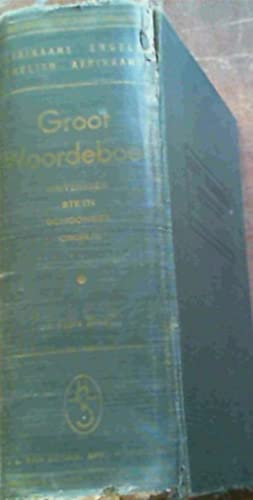 Groot Woordeboek Afrikaans-Engels, Engels-Afrikaans: Kritzinger, M S