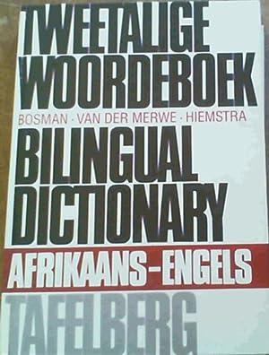 Tweetalige Woordeboek / Bilingual Dictionary : Afrikaans: Bosman : Van