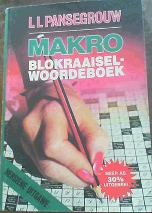 Makro Blokraaiselwoordeboek: Pansegrouw, L.L.