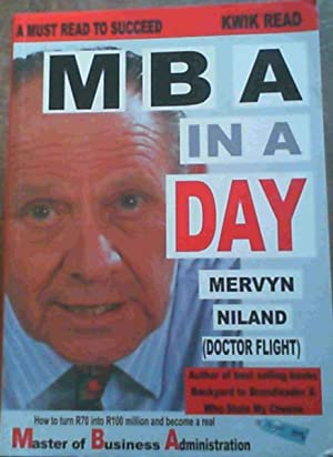 MBA in a Day: Niland, Mervyn
