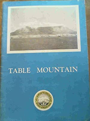 The Preservation Of Table Mountain: Luckhoff, C. A.