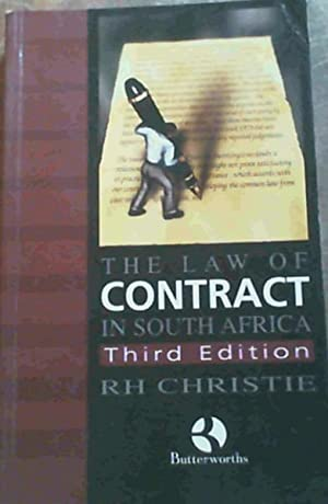 The Law of Contract in South Africa: Christie, R H