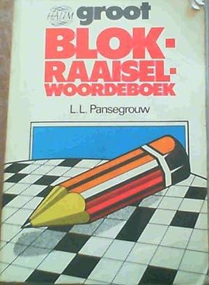 Groot Blokraaiselwoordeboek: Pansegrouw, L L