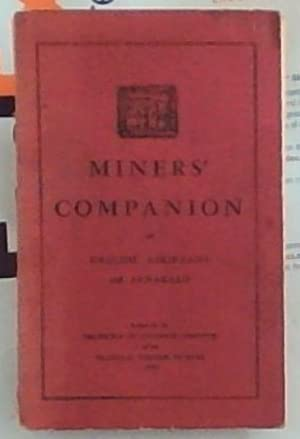 Miners' Companion in English, Afrikaans and Fanakalo