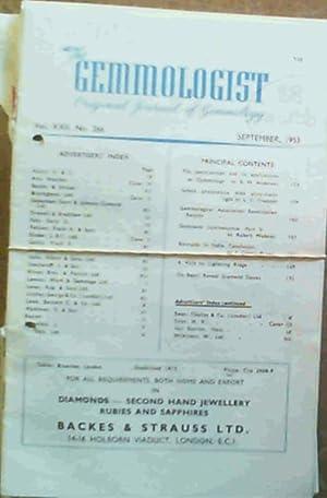 The Gemmologist : Original Journal of Gemmology: Bruton, Eric M