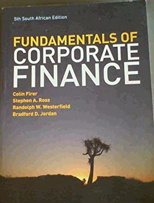 Corporate finance by ross westerfield abebooks the fundamentals of corporate finance firer colin ross fandeluxe Images