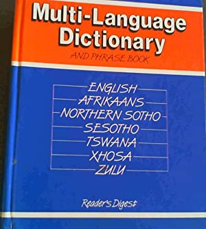 South Africa Multilanguage Dictionary and Phrasebook : English, Afrikaans, Northern Sotho, Sesoth...