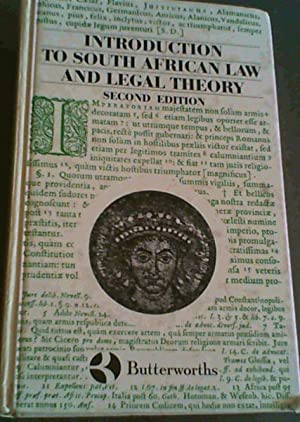 Introduction to South African Law and Legal: Hosten : Edwards