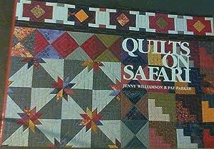 Quilts on Safari: Williamson, Jenny :
