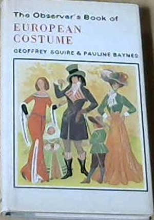 The Observer's Book of European Costume (Observer's Pocket)
