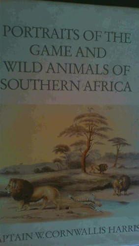 Portraits of the Game and Wild Animals: Harris, William Cornwallis
