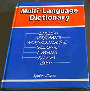 South Africa Multi-Language Dictionary and Phrase book: Reader's Digest; Reynierse,