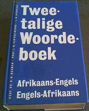 Tweetalige Woordeboek. Afrikaans - Engels: Bosman : Hiemstra