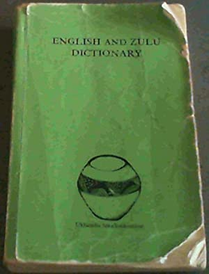 English and Zulu Dictionary: English-Zulu, Zulu English