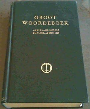 Groot Woordeboek : Afrikaans - Engels/ English: Kritzinger : Steyn
