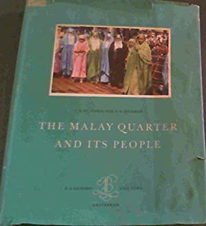 The Malay Quarter & Its People: Du Plessis, I.D.