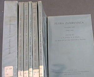 Flora Zambesiaca : Mozambique, Federation of Rhodesia: Exell, A W