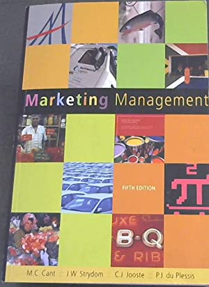 Marketing Management: Cant, M. C.