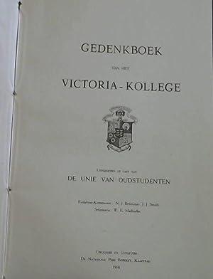 Gedenkboek van het Victoria - Kollege