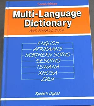 South Africa Multilanguage Dictionary and Phrase Book : English, Afrikaans, Northern Sotho, Sesot...