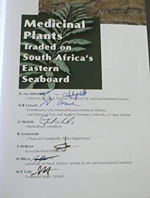 Medicinal Plants Traded on South Africa's Eastern Seaboard