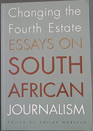 How To Write Essay Proposal Changing The Fourth Estate Essays On The South African Journalism Thesis Statement For Process Essay also Health Promotion Essay Shop Journalism Books And Collectibles  Abebooks Chapter  Good Science Essay Topics