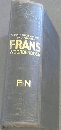 Frans Handwoordenboek F-N: Van Wely, Dr