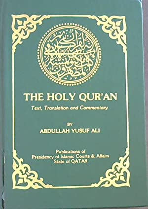 analysis of quranic texts and commentaries The qur'an and historical criticism can undertake this analysis without compromising his faith in the biblical revelation is neither simply a text nor an.
