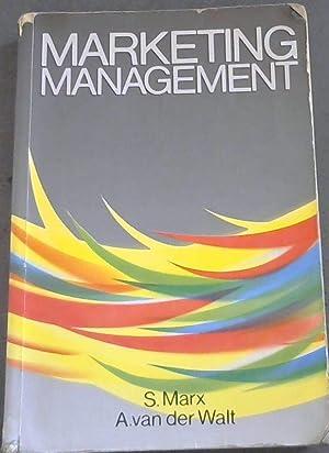 Marketing Management: Marx, S and