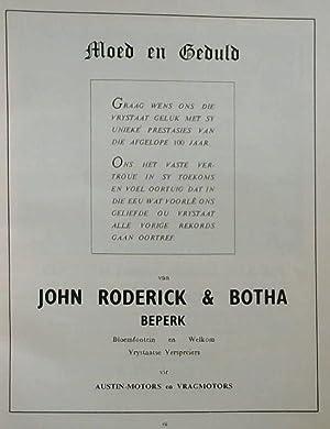 Souvenir Album Of The Orange Free State;: Oberholster, J. J