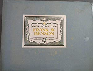 Modern Masters Of Etching No.6 Only: Benson, Frank W.