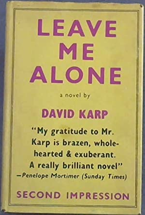 Leave Me Alone: Karp, David