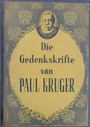 Die Gedenkskrifte van Paul Kruger: Kruger, Paul: Bredell,