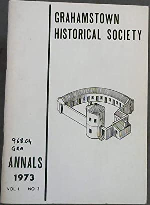 Grahamstown Historical Society : Annals 1973 : Rainier, Margaret ;