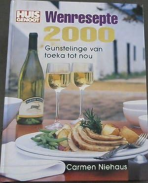 Huisgenoot Wensresepte 2000: Niehaus, Carmen