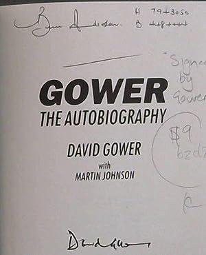 Gower: The Autobiography: Gower, David; Johnson,