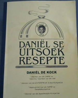 Daniël se Uitsoek Resepte - Tygerberg Hospice: de Kock, Daniël