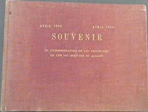 Souvenir in Commemoration of the Centenary of the 1820 Settlers of Albany April 1820-April 1920