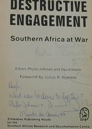 Destructive Engagement: Johnson, Phyllis and