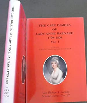 The Cape diaries of Lady Anne Barnard,: Lenta, Margaret; Le