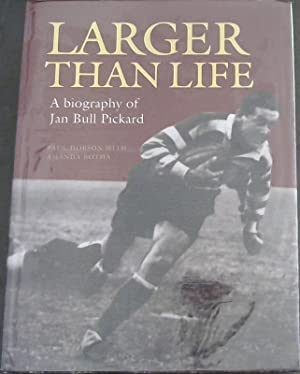 Larger than Life: A biography of Jan: Dobson, Paul with