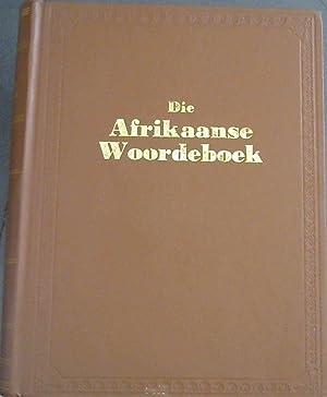 Woordeboek van die Afrikaanse Taal - Sesde: Snijman, F J